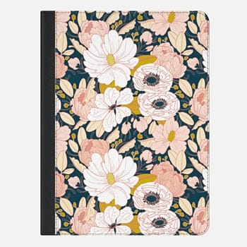 iPad Air 2 Case Night Bloom