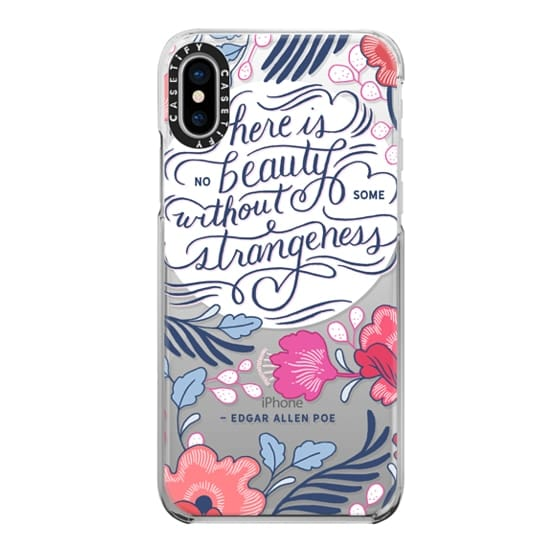 iPhone X Cases - Beauty and Strangeness