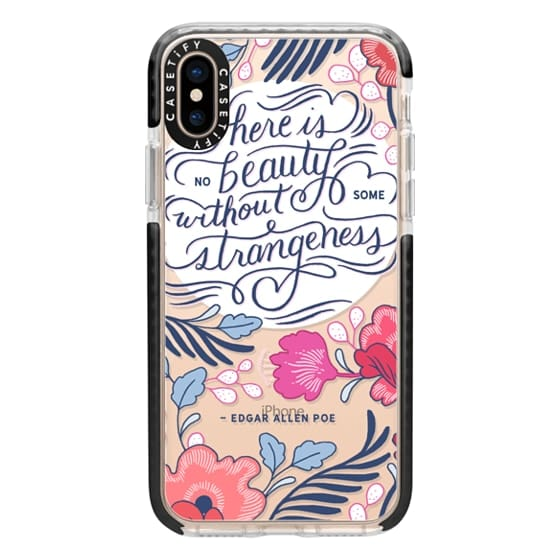 iPhone XS Cases - Beauty and Strangeness