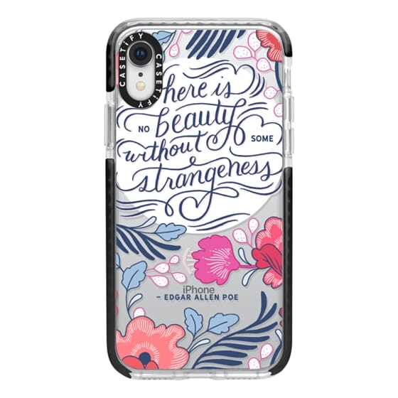 iPhone XR Cases - Beauty and Strangeness