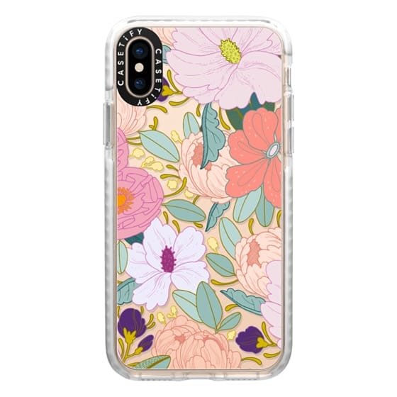 iPhone XS Cases - Full Floral