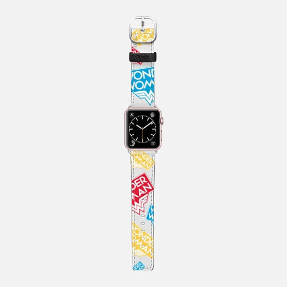 WONDER WOMAN COLOR PATTERN APPLE WATCH BAND