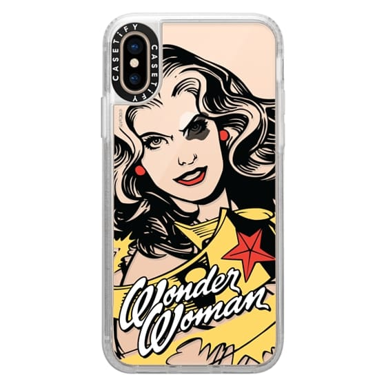iPhone XS Cases - WONDER WOMAN STRIKES