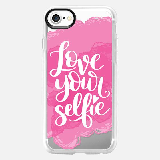 Love Your Selfie - Classic Grip Case