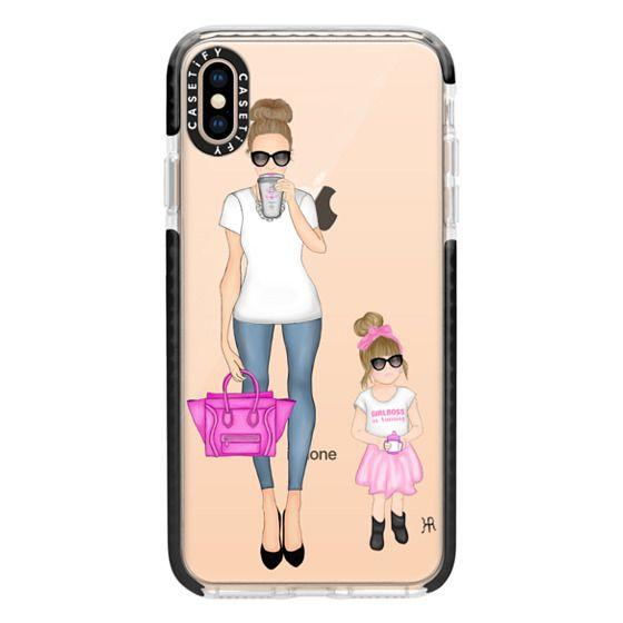 iPhone XS Max Cases - Girlboss and Girlboss in Training Option 2