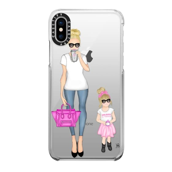 iPhone X Cases - Girlboss and Girlboss in Training Option 1