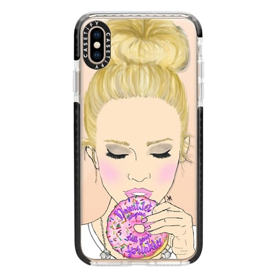 iPhone XS Max Cases - Donut Let Anyone Dull Your Sprinkle Option 1