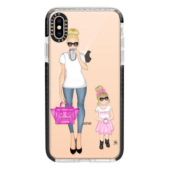 iPhone XS Max Cases - Girlboss and Girlboss in Training Option 1