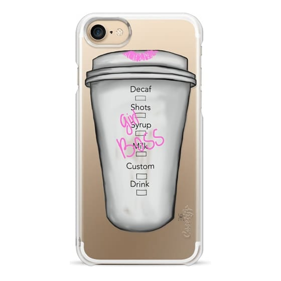 iPhone 7 Cases - It's a Latte Work Being a GIRLBOSS