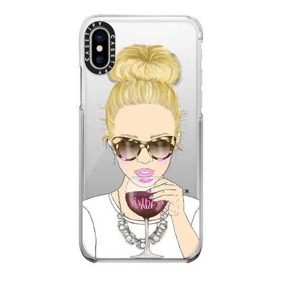 iPhone X Cases - Girlboss Fuel Option 1