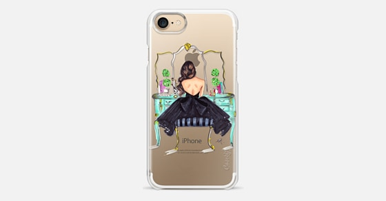 The Turquoise Vanity iPhone 7 Case by Melsy s Illustrations Casetify