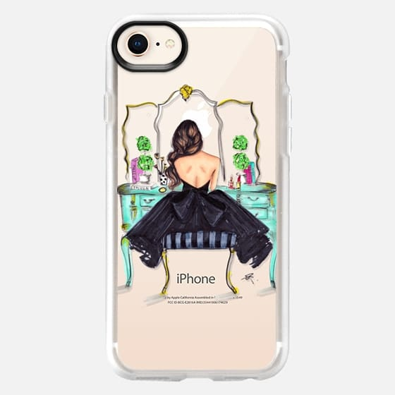 Vanity Light Iphone Case : The Turquoise Vanity iPhone 8 Case by Melsy s Illustrations Casetify