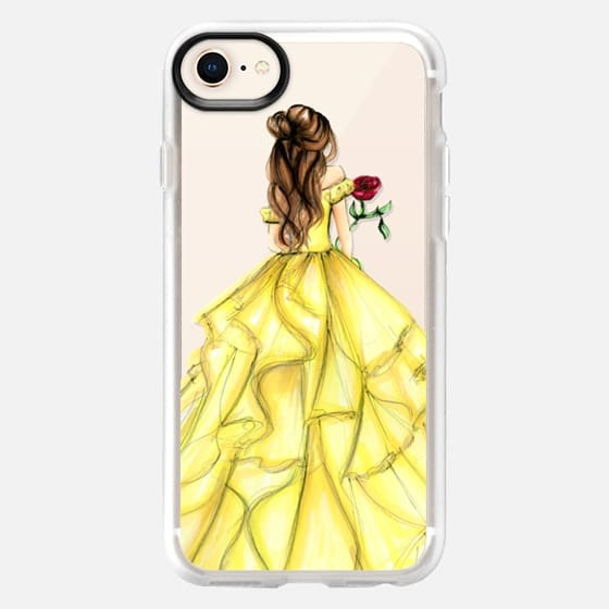 The Princess and The Rose - Snap Case
