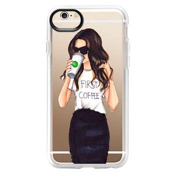 Grip iPhone 6 Case - Coffee First (Brunette)