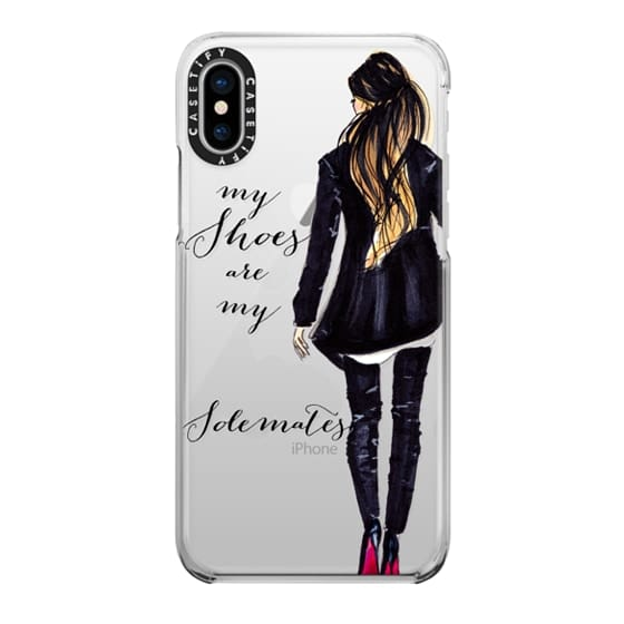 iPhone X Cases - My Shoes Are My Solemates