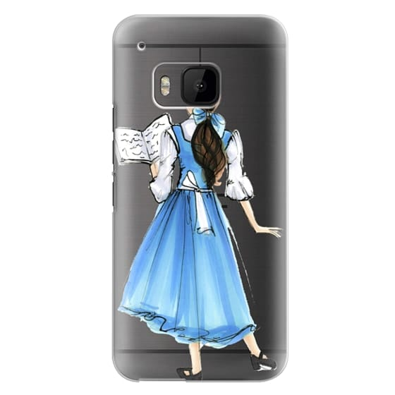 Htc One M9 Cases - Princess in Blue