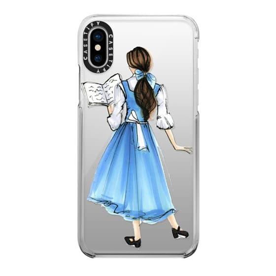 iPhone X Cases - Princess in Blue