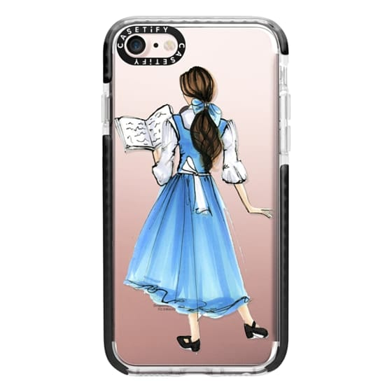 iPhone 7 Cases - Princess in Blue
