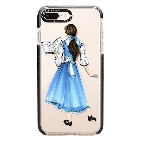 iPhone 8 Plus Cases - Princess in Blue