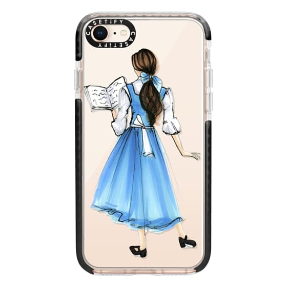 iPhone 8 Cases - Princess in Blue