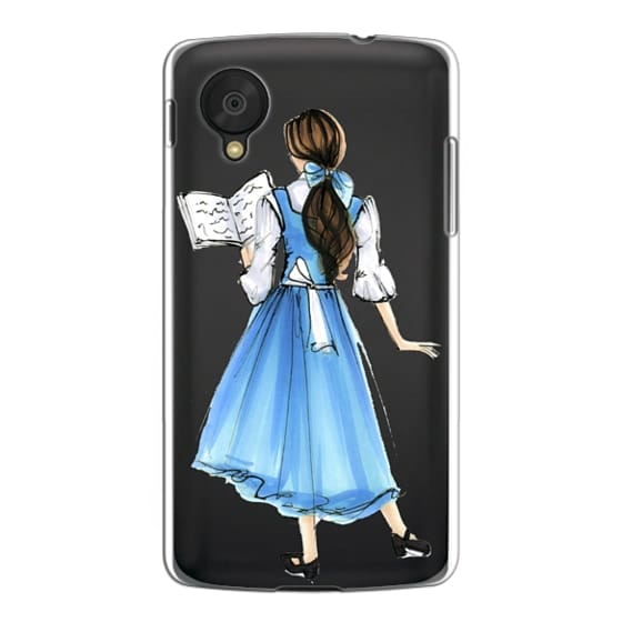 Nexus 5 Cases - Princess in Blue