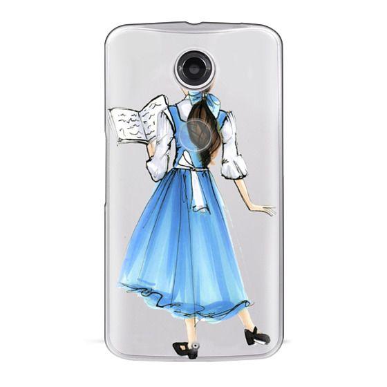 Nexus 6 Cases - Princess in Blue