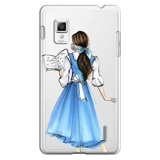 Optimus G Cases - Princess in Blue