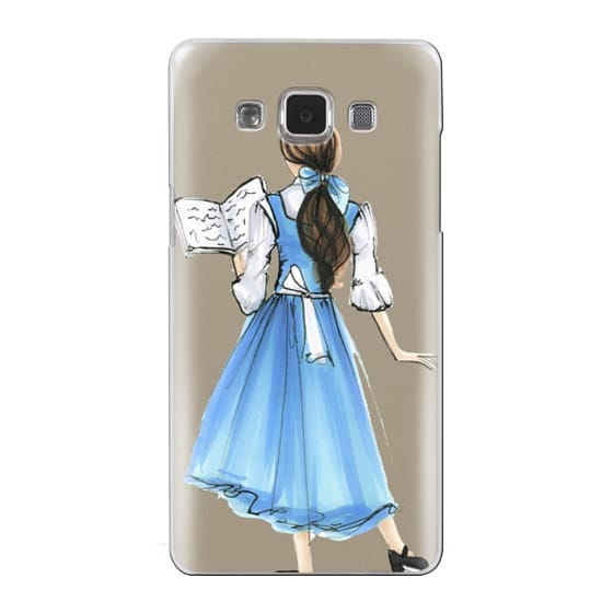 Samsung Galaxy A5 Cases - Princess in Blue