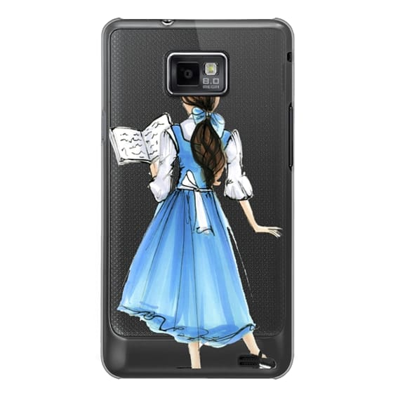 Samsung Galaxy S2 Cases - Princess in Blue