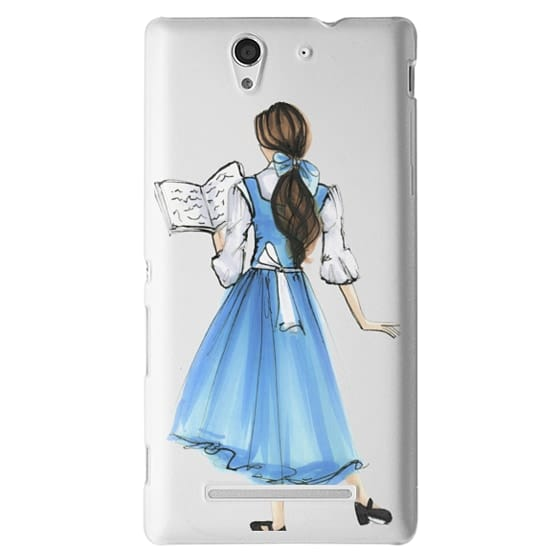 Sony C3 Cases - Princess in Blue