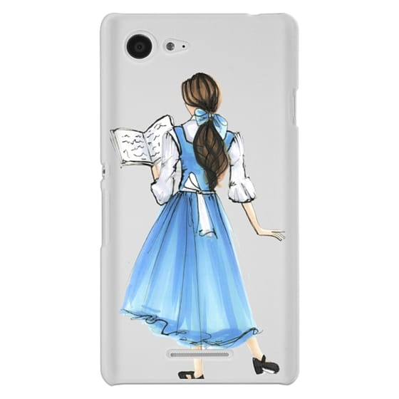 Sony E3 Cases - Princess in Blue