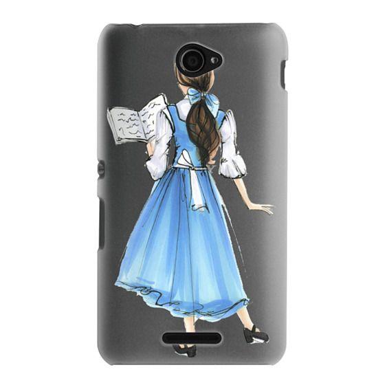 Sony E4 Cases - Princess in Blue