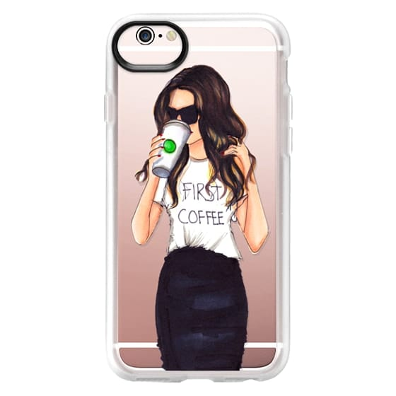 iPhone 6s Cases - Coffee First (Brunette)