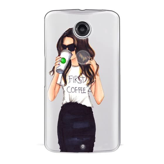 Nexus 6 Cases - Coffee First (Brunette)
