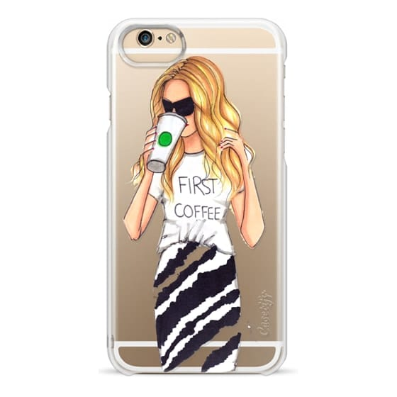 iPhone 4 Cases - First Coffee