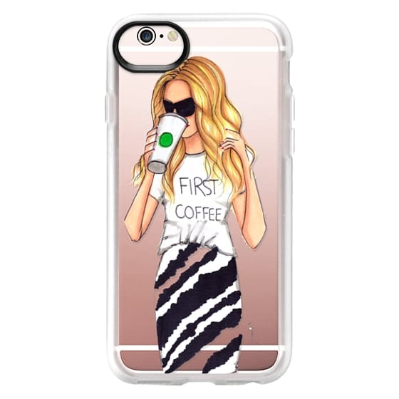 iPhone 6s Cases - First Coffee