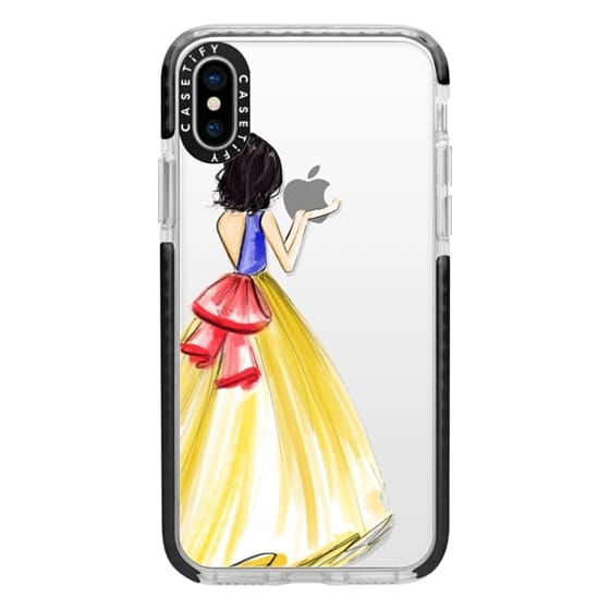 iPhone X Cases - Princess and the Apple