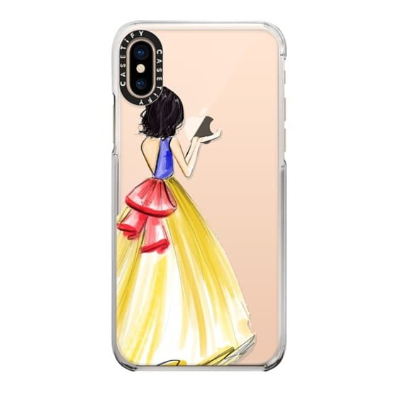 iPhone XS Cases - Princess and the Apple