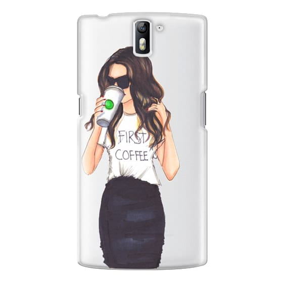 One Plus One Cases - Coffee First (Brunette)