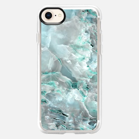 Teal Onyx Marble - Snap Case