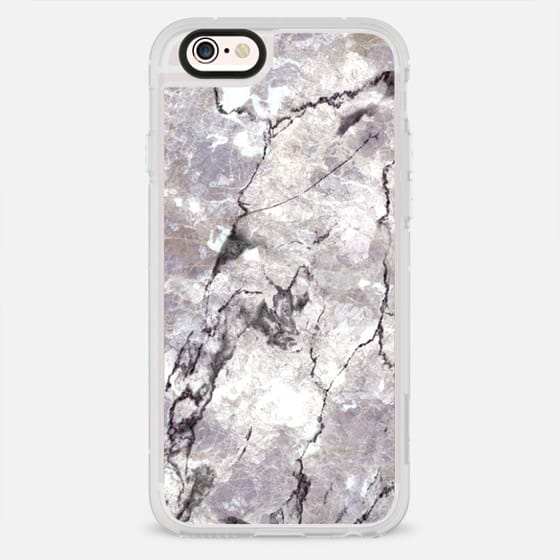 Light Charoite Marble Stone - New Standard Case