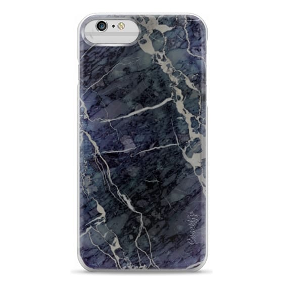 iPhone 6 Plus Cases - Blue Stone Marble
