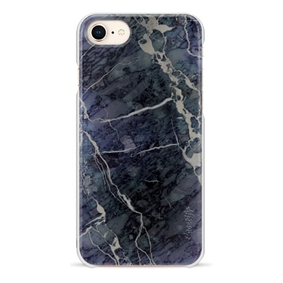 iPhone 8 Cases - Blue Stone Marble