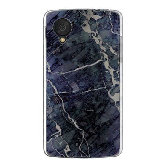 Nexus 5 Cases - Blue Stone Marble