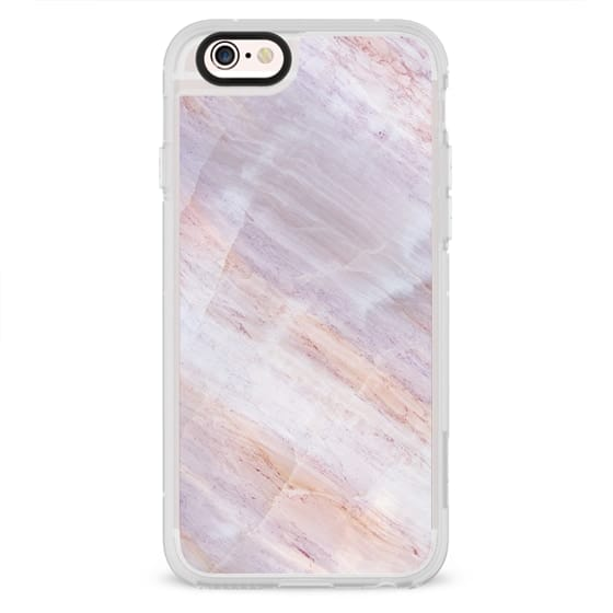 iPhone 4 Cases - Charoite Purple Marble Stone