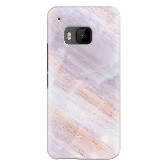 Htc One M9 Cases - Charoite Purple Marble Stone