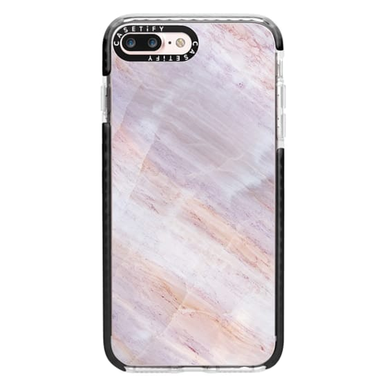 iPhone 7 Plus Cases - Charoite Purple Marble Stone