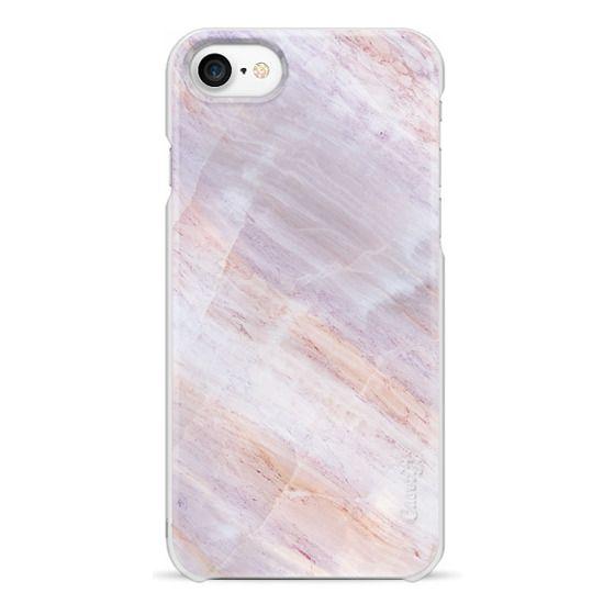 iPhone 7 Cases - Charoite Purple Marble Stone