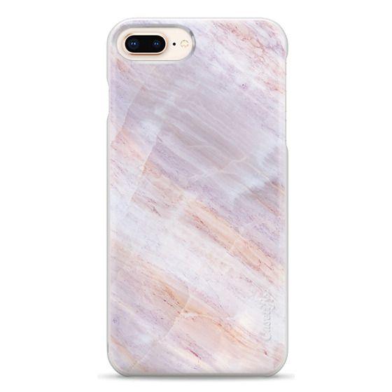 iPhone 8 Plus Cases - Charoite Purple Marble Stone