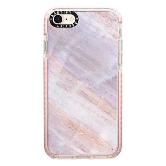 iPhone 8 Cases - Charoite Purple Marble Stone